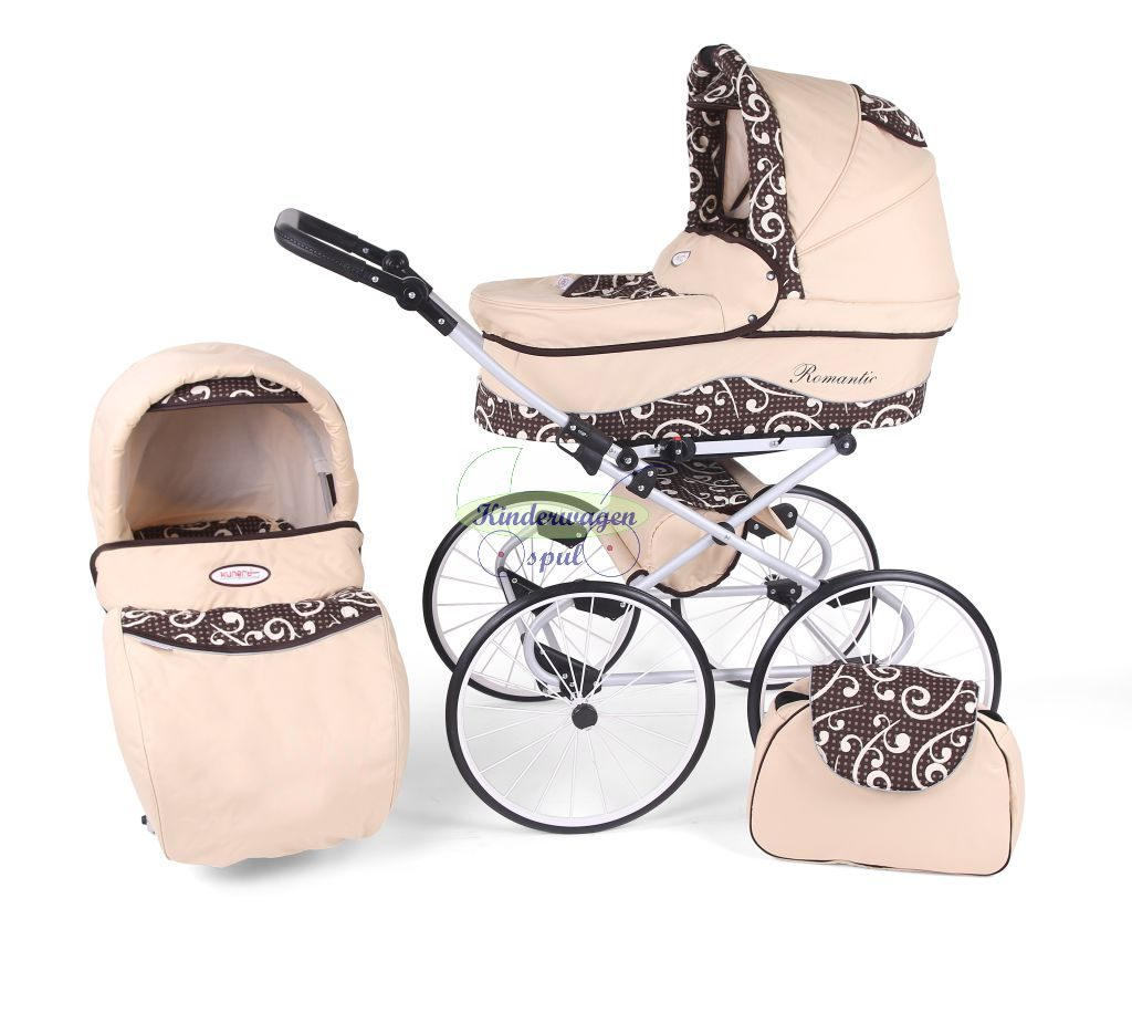 Baby carriage cream - vintage<br /> Price: 549,00 Euro