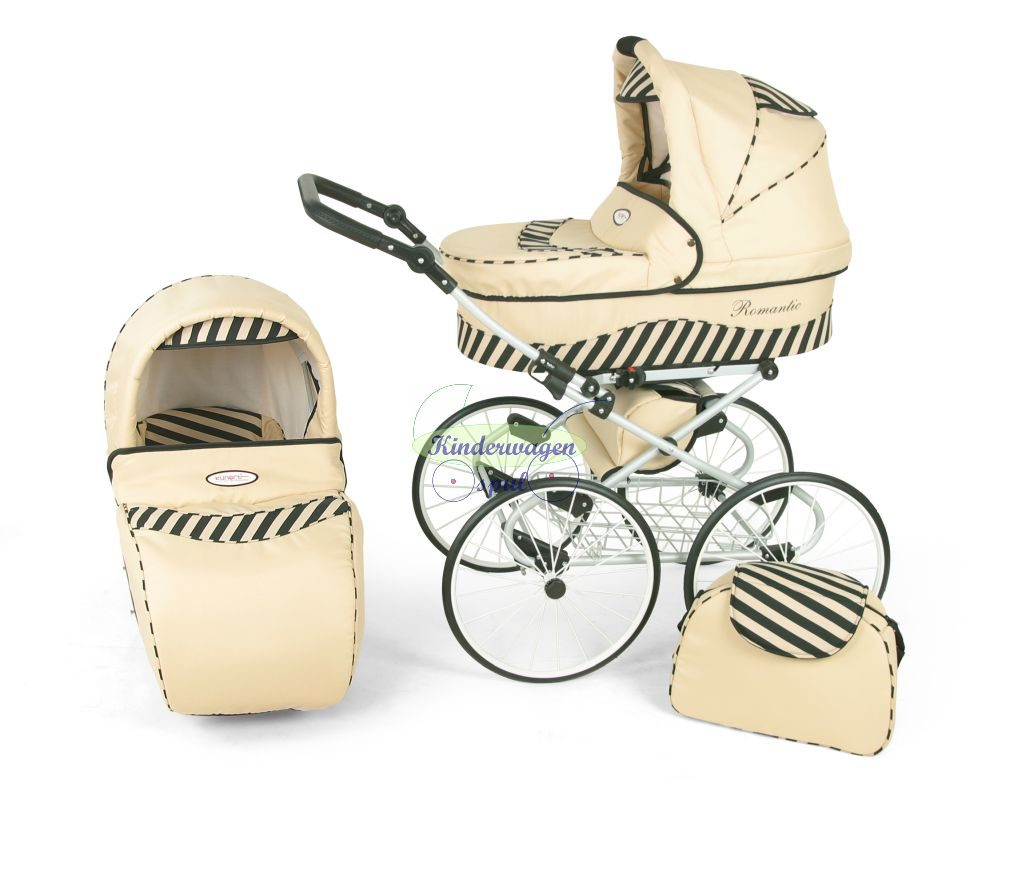 Baby carriage cream - zebra<br /> Price: 5649,00 Euro