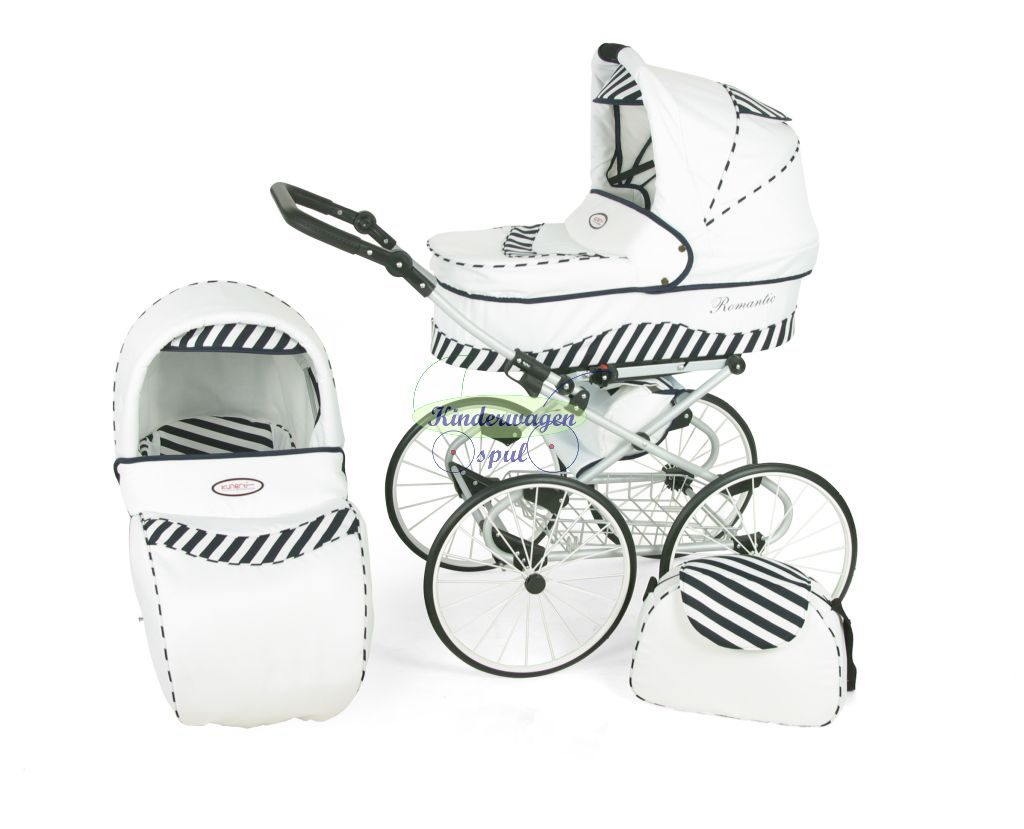 Baby carriage white - zebra<br /> Price: 549,00 Euro