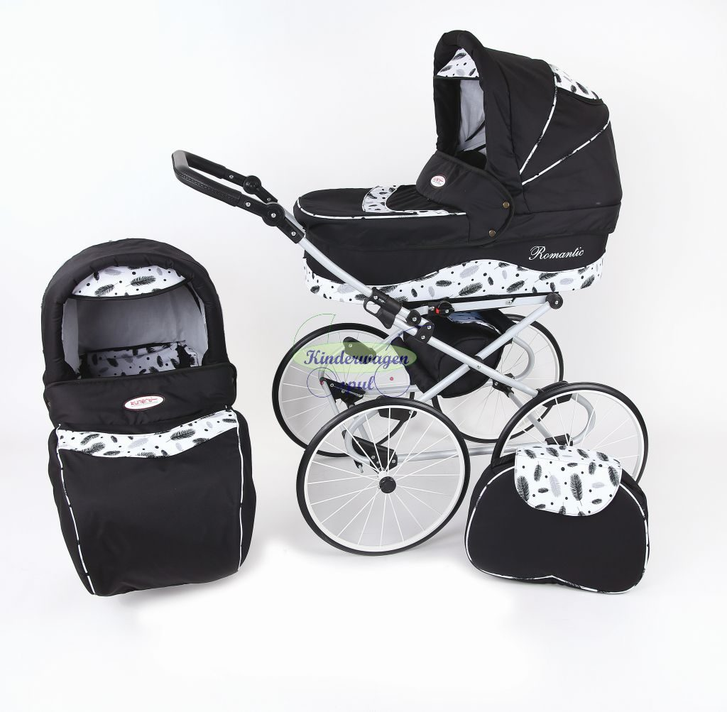 Baby carriage black - leaf<br /> Price: 549,00 Euro