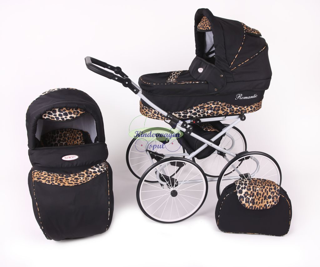 Baby carriage black - panther<br /> Price: 549,00 Euro